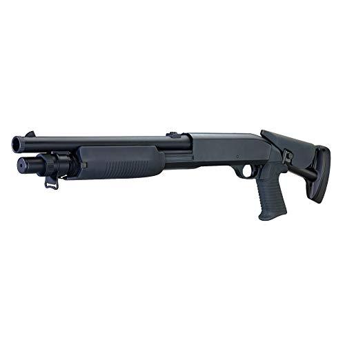 Rayline M56C Softair Gewehr (Manuell Federdruck), Material: ABS (Stoßfest), Nachbau im Maßstab 1:1, Länge: 76cm, Gewicht: 1800g, Kaliber: 6mm, Farbe: Schwarz - (unter 0,5 Joule - ab 14 Jahre)