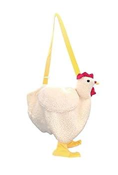 Chicken Bag Chicken Purse Cute Cock Crossbody Bag Plush Handbags Cartoon Rooster Shoulder bag  Cock