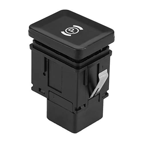 Interruptor de estacionamiento del freno de mano Suuonee, 3C0927225C Interruptor de estacionamiento del freno de mano electrónico para automóvil Botón de freno para Passat B6 CC 3C