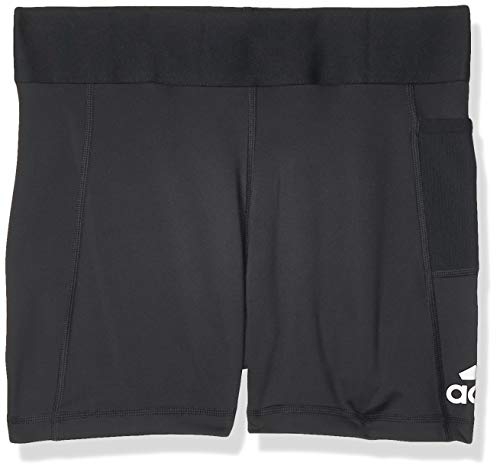adidas Ask SP Short T Mallas, Mujer, Negro/Blanco, S 3'