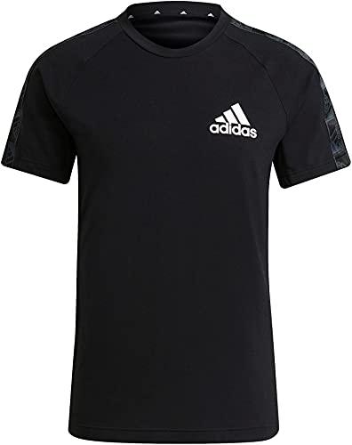 adidas M MT T, Tricot Homme, Noir et Blanc, M