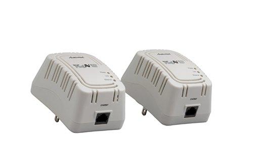 Actiontec HLE200AV0-01GK MegaPlug 200 Mbps Powerline HomePlug A/V Gaming Adapter Kit (White)