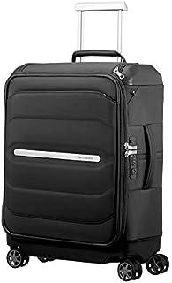Samsonite 103157 Octolite SS Spinner Top Pocket Business Suitcase, Black, 55 Centimeters