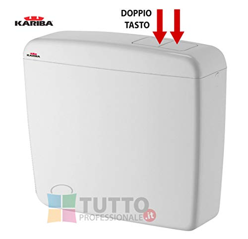 CASSETTA WC in ABS SUPER KARIBA DUO B/CA