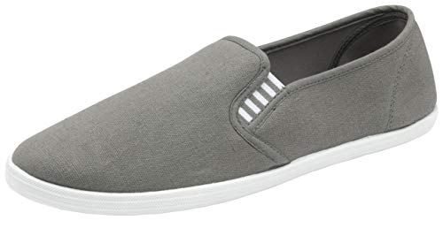 Dunlop Mens Casual Padded Canvas Plimsolls Shoes (Gary Gw, 11)