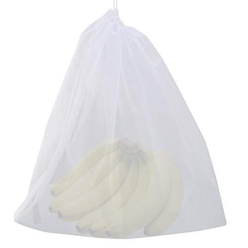 SANON Bolsa de Colar Bolsas de Muselina Bolsas de Filtro de Colador de Alimentos de Malla Fina Reutilizables para Leche de Nueces Cerveza Fría Elaboración Casera (26 Pulgadas X 22