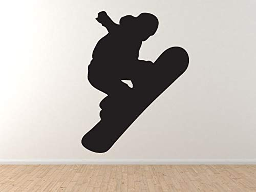 Snowboard Trick #1 - Mountain Downhill Competitieve Jump muur Vinyl Decal Home Decor
