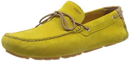 Geox Herren U Melbourne A Mokassin, Gelb (Dk Yellow C2006), 44 EU