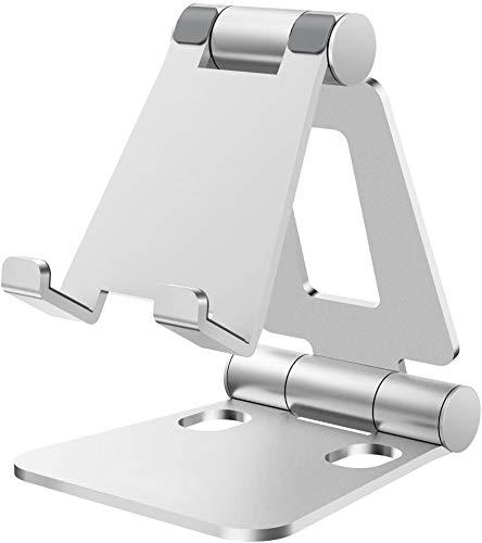 Nulaxy スマホスタンド 折り畳み式 270°角度調整可能 iPad/タブレット/iPhone スタンド Nintendo Switchに...