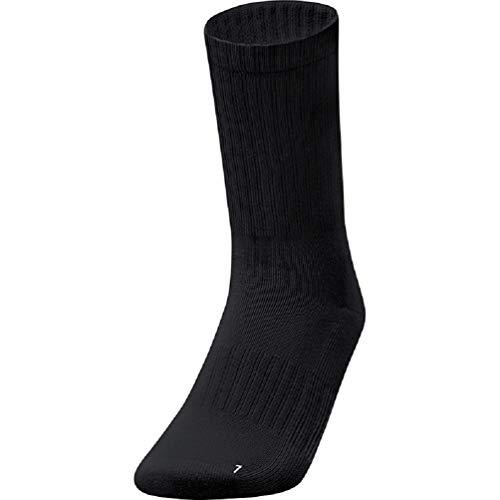 JAKO Socken Sportsocken 3er Pack, schwarz, 6 (47-50), 3939