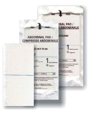 AMD-Medicom A7187 Super intense SALE Abdominal Pad Non-Sterile 8