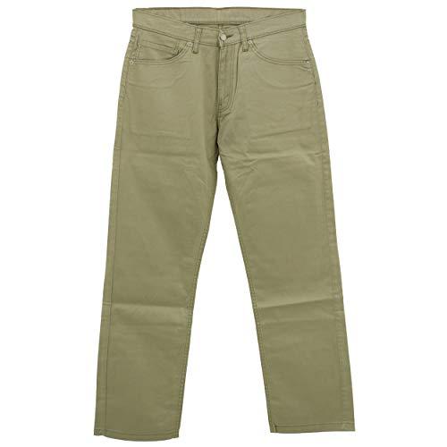 Levis, 752 Straight, Herren Herren Jeans Hose Gabardine Stretch Hellgrau W 31 L 30 [22208]