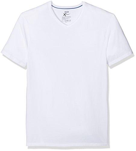 Dim X-Temp, Camiseta para Hombre, Blanco (Blanco/Blanco), L (EU), Pack de 2