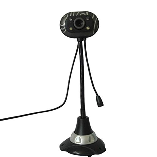 KoelrMsd Rotatable Camera HD Practical Webcam USB Camera Video Recording Web Camera With Microphone Random Color