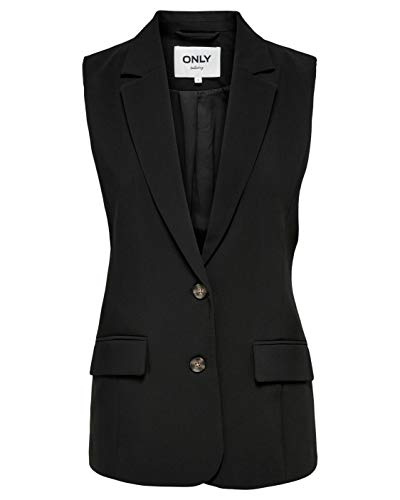 Only Laural-lely Waistcoat TLR 15206283 - Chaqueta para mujer Negro