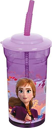 Frozen II Trinkbecher mit Strohhalm