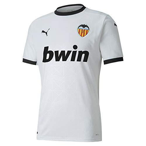Puma Valencia CF Temporada 2020/21-Home Shirt Replica White B Camiseta Primera Equipación, Unisex, White, XS