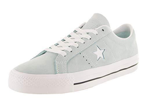 Converse Unisex One Star Pro Ox Skate Schuh, Blau (Blaugrün/Schwarz/Weiß), 43 EU