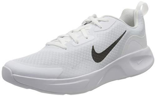 Nike Wearallday, Sneaker Hombre, White/Black, 44 EU