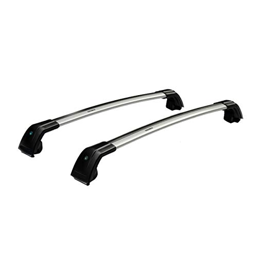 TRIL GEAR Roof Top Rack Cross Bars Cargo Luggage Carrier Set Fit For 2013-2018 Hyundai Santa Fe