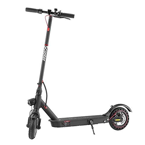 i9pro Electric Scooter,30KM/h Maximale Geschwindigkeit,Belastung 120kg,7.8AH Batterie | Anti-Rutsch-Reifen und LCD-Bildschirm,Wasserdicht E-Scooter für Erwachsene und Jugendliche
