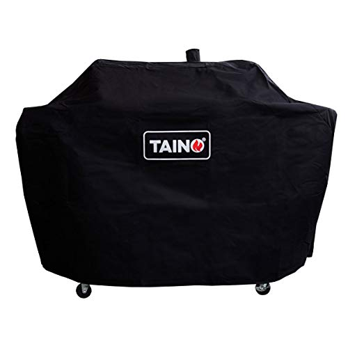 TAINO Hero Duo Abdeckung Haube Regenschutz für Combi Smoker Gasgrill Holzkohlegrill BBQ GRILLWAGEN Griller