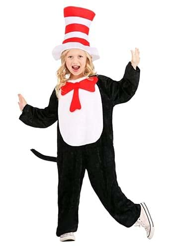 Dr. Seuss The Cat in the Hat Costume for Kids Size M