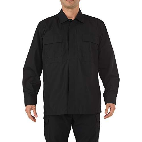 5.11 Tactical # 72002 Ripstop TDU Manches Longues pour Homme Taille XXXL Noir