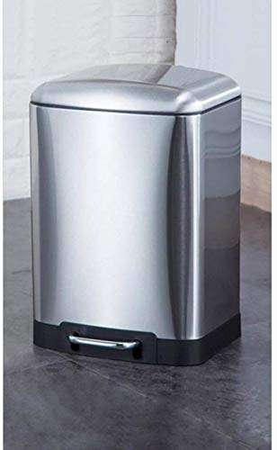 Khmyi vuilnisemmer voor huisvuil, van roestvrij staal, voor pedaalemmer, grote vuilnisbak voor Bin Living, slaapkamer, bergruimte, 12 l
