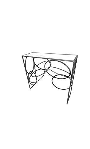 Socadis - Console Design Cercle métal Art DE Fer