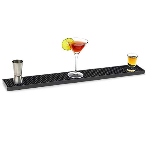 Bar@drinkstuff - Tapis de comptoir en caoutchouc - 61 cm