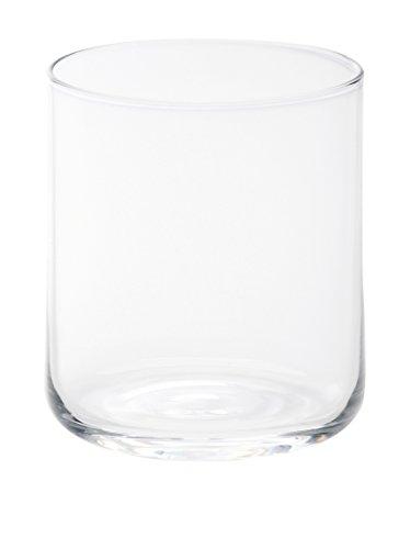 Bitossi Home BEI1 Set di 6 Bicchieri Acqua Bloom, in Pasta di Vetro, Trasparente