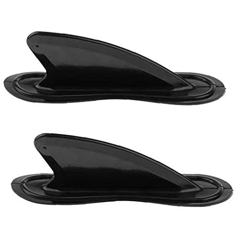 Screst Kayak Skeg Tracking Fine Inflable Barco Tbare Tbare Aleta Tablero De La Aleta Accesorios De Reemplazo para La Tabla De Surf/Paddleboard 2pcs