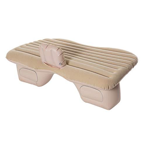 NACHEN auto reizen opblaasbare matras universele achterbank kussen slaap breken spel sport multifunctionele draagbare PVC Flocking auto's in bed