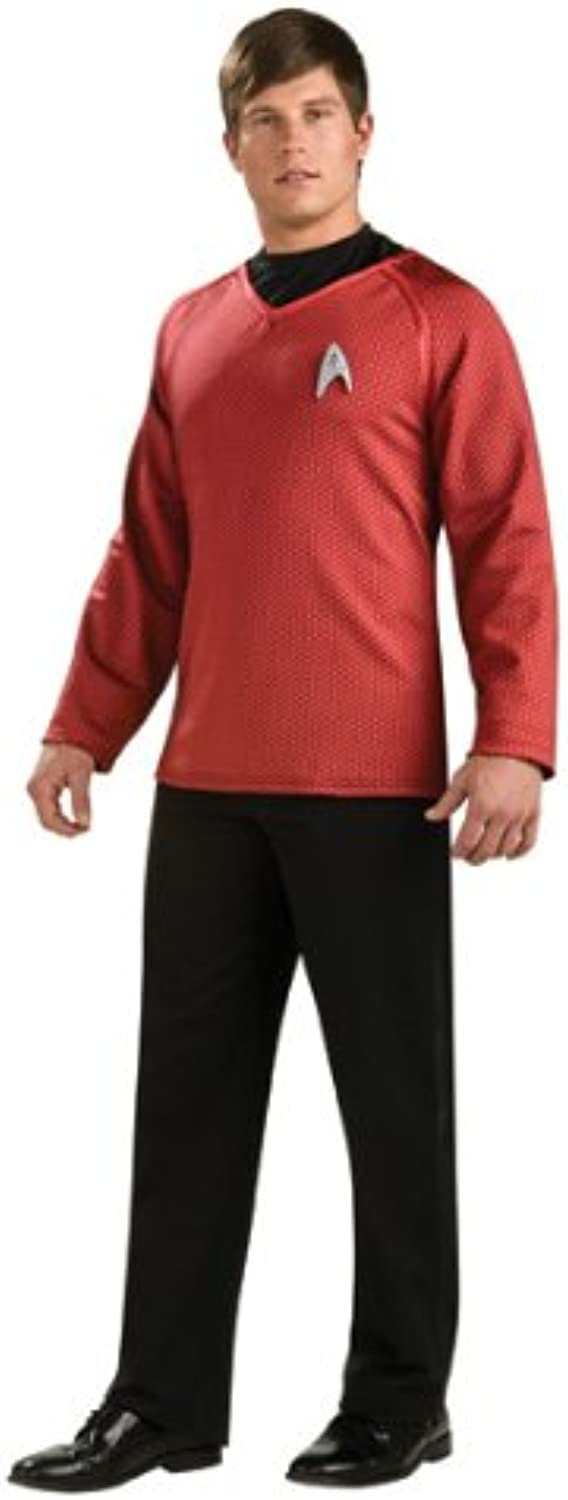 Star Trek Movie Grand Heritage Scotty Red Shirt Costume Adult XLarge