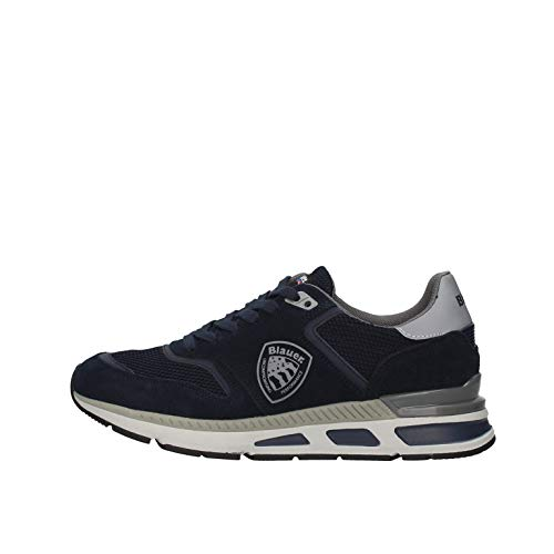 Blauer Scarpe Uomo Sneakers Uomo in camoscio Blu F0HILO01-SME-NVY