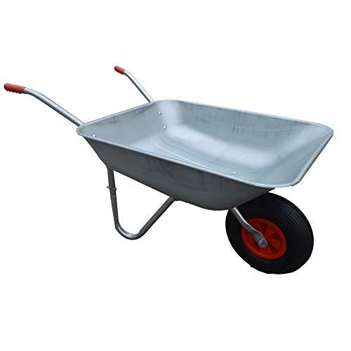 KCT 65L Garden Steel Wheelbarrow