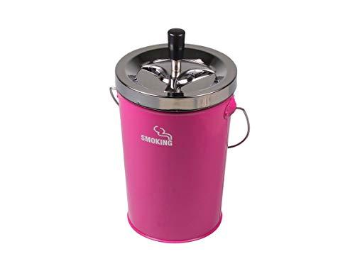 Schleuderascher Kübel 'Smoking', Farbe:Pink