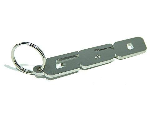 DisagrEE Schlüsselanhänger G60 - hochwertiger Edelstahl glänzend