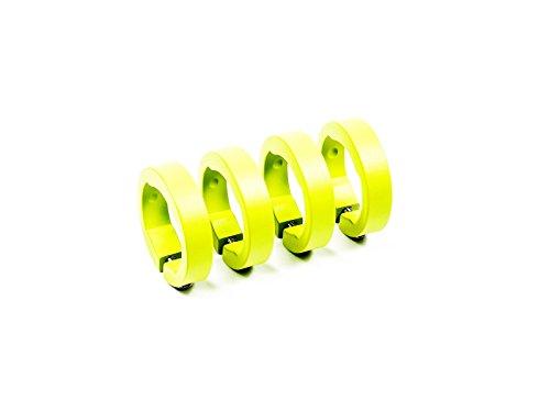 SixPack Racing Lock Color: Amarillo Fluo MTB Unisex Adulto