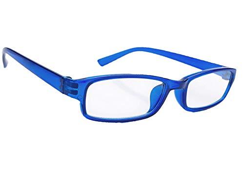 Morefaz Ltd leesbril voor dames en heren, slank design, leesbril +0,50 +0,75 +1,0 +1.5 +2.0 +2.5 +3.5 +4.00 MFAZ Morefaz Ltd +2.00 random color