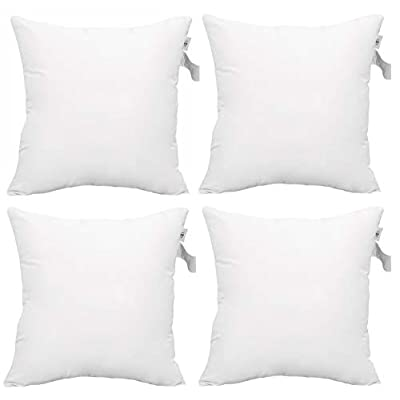 18 pillow inserts set of 4
