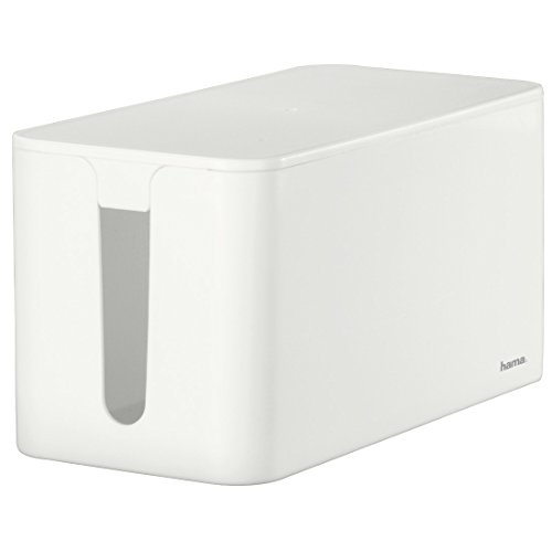 Hama 020661 Caja para Cables, Blanco, Estandar