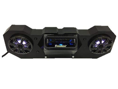 "SD 4BBT2RGB2 -Polaris RZR Stereo System BT UTV Side by Side (2-6.5"" Marine Speakers)"