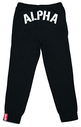 ALPHA INDUSTRIES Damen Jogginghose Alpha BP Black (XL)
