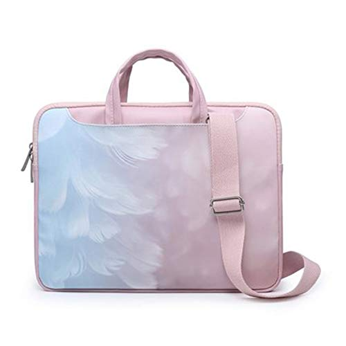Laptop Bag 13.3/14/15.4/15.6 inch Notebook Shoulder Bag MacBook Air Pro Handbag Computer Messenger Briefcase-15 inches