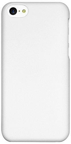 Mumbi - Cover rigida per iPhone 5c, Bianco opaco