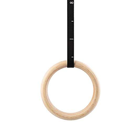 Gym Ringe, Gymnastikringe/Turnringe/Fitness Training Ring aus Birke, Ergonomisch, zum Dehnen des Körpers, Verringerung der Ermüdung und Entspannen der Schultern