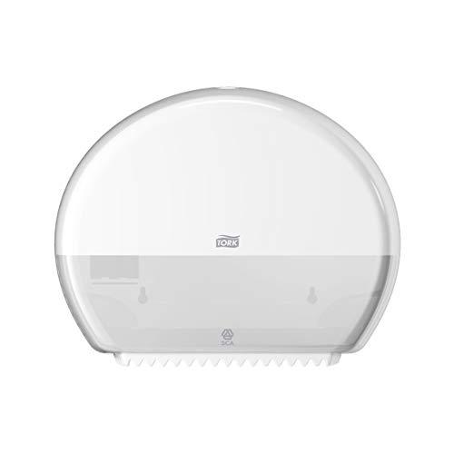 Tork 555000 Dispensador mini de papel higiénico Jumbo Elevation / Sistema T2 / Blanco