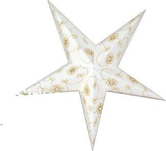 Sirius Mini Poinsettia/étoile en papier abat-jour avec Designs à la main décoratifs
